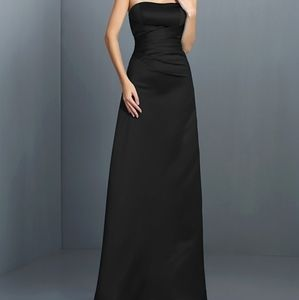 Wendye Chaitin Black Strapless Dress